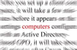 компьютеры Стоковое фото RF