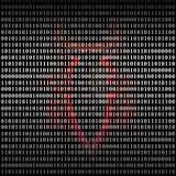 Компьютер вируса Стоковое фото RF