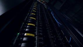 Компьютер для минирования Bitcoin Штепсельная вилка кабелей к материнской плате для минируя машины Компьютер Cryptocurrency с мно сток-видео
