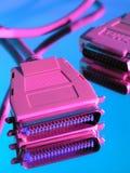 компьютер кабеля Стоковая Фотография