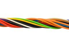 компьютер кабеля Стоковая Фотография RF