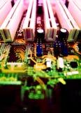 компьютер карточки Стоковые Изображения RF