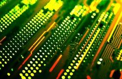 компьютер карточки Стоковая Фотография