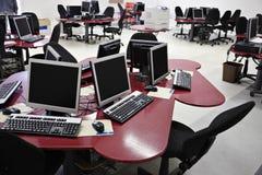 компьютер класса Стоковые Изображения RF