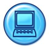 компьютер кнопки Стоковое Изображение RF