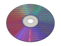 компьютер компактного диска байт Стоковое Изображение RF