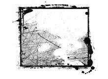 Компьютер конструировал границу grunge иллюстрация штока