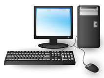 компьютер личный Стоковое Фото
