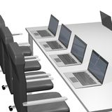 компьютер офиса Стоковое Изображение