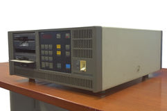 Компьютер перед ПК рожден Стоковое Фото