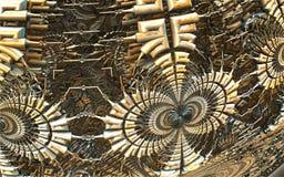 Компьютер представил виртуальный пейзаж Стоковое Изображение