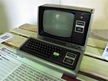 Компьютер Рима винтажный стоковое изображение