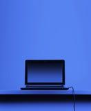 компьютер сини предпосылки Стоковое Изображение RF