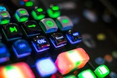 компьютер состава кнопки начала абстракции input плитка techno клавиатуры квадратная Стоковая Фотография RF