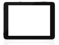 Компьютер таблетки с пустым экраном Стоковые Фотографии RF