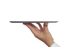 Компьютер таблетки цифров в руке Стоковые Изображения RF