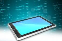 Компьютер таблетки экрана касания Стоковая Фотография RF