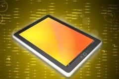Компьютер таблетки экрана касания Стоковая Фотография