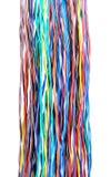 компьютер цвета кабеля с оплеткой Стоковая Фотография