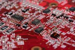 компьютер доски Стоковая Фотография