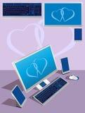 компьютер Иллюстрация вектора