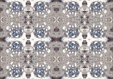 компьютер 3d произвел предпосылку картин фракталей конспекта уникальную накаляя иллюстрация вектора