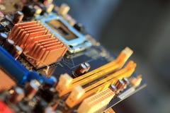 Компьютер Mainboard стоковые фото