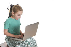 Компьютер Wizz Стоковое Изображение