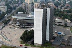 Комплекс арены в Катовице стоковое фото rf