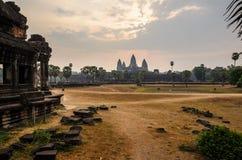 Комплекс виска Angkor Стоковые Изображения