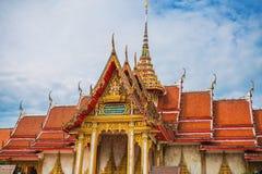 Комплекс виска Wat Chalong в Пхукете, Таиланде Стоковые Фото