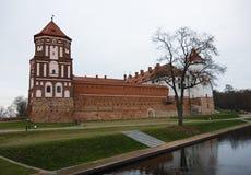 Комплекс замка Mir, Беларусь. Стоковые Фото