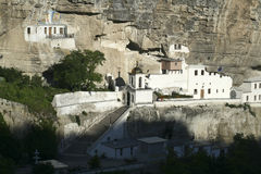 Комплекс монастыря пещеры Uspensky стоковое изображение