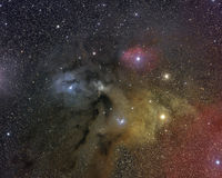 Комплекс облака Ophiucus Rho Стоковое Изображение RF
