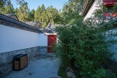 Комплекс острова Nanhu летнего дворца Пекина Стоковое Изображение RF