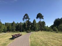 Комплекс парка Стоковая Фотография RF