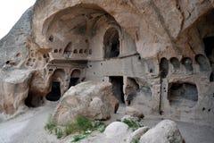 Комплекс пещеры монастыря Selime Стоковая Фотография