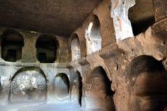 Комплекс пещеры монастыря Selime Стоковые Фото