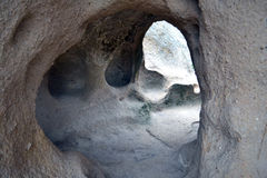 Комплекс пещеры монастыря Selime Стоковое фото RF