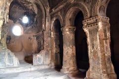 Комплекс пещеры монастыря Selime Стоковые Фотографии RF
