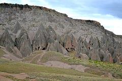 Комплекс пещеры монастыря Selime Стоковое Фото
