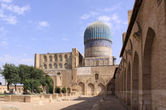 Комплекс Узбекистана, Самарканда Shah-i-Zinda в Самарканде стоковая фотография rf