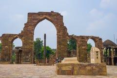 Комплекс Qutb - Minar Стоковые Изображения