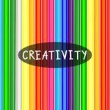 Комплекты красочных Crayons Стоковое Фото