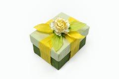 Комплекты подарочной коробки шелковицы бумажные Стоковое Фото