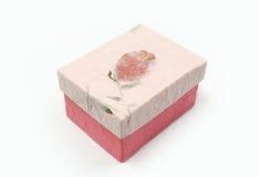 Комплекты подарочной коробки шелковицы бумажные Стоковое Изображение