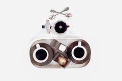 комплекты coffe эспрессо стоковое изображение