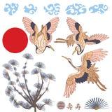 Комплект Азии элемента кранов Стоковое Фото