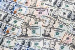 Комплект американского доллара Стоковая Фотография RF