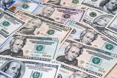 Комплект американского доллара Стоковые Изображения RF